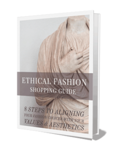 8 Steps to Ethical Sustainable Fashion Guide